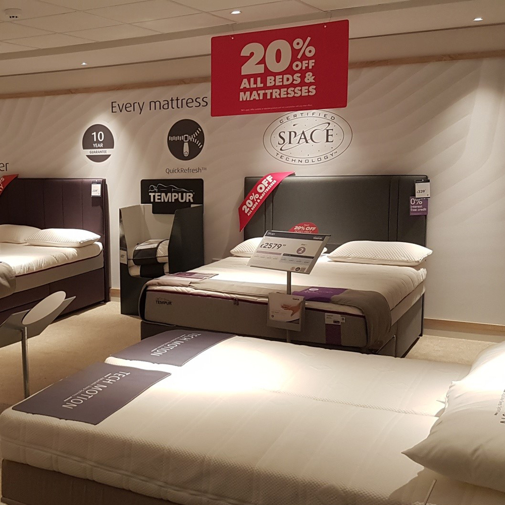 Branded Bed Wall