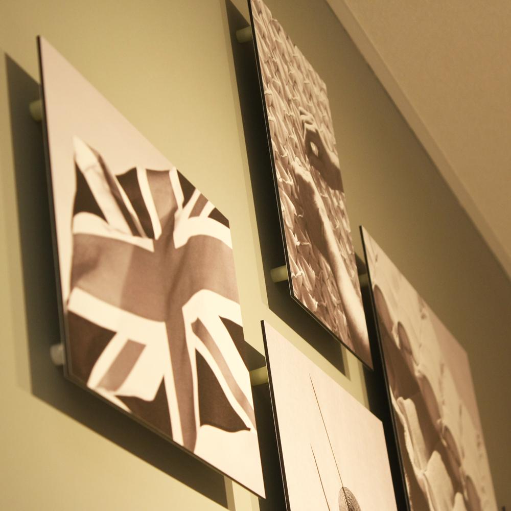 Wall mounted graphics