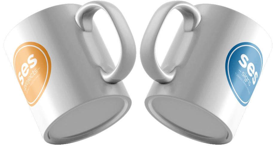 SES Branded Mugs